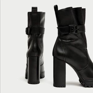 Zara studio boots